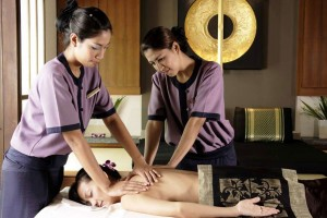 Banyan Tree Spa in Phuket